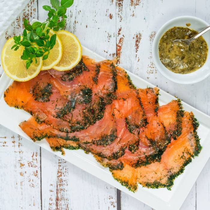 Salmon Sweden style