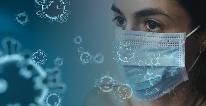 Use of face masks: Protection and contamination