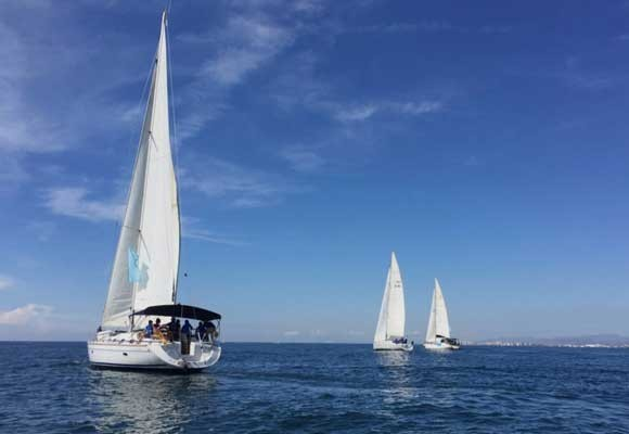 In Ibiza, a Belgian couple's holiday dream turns into a nightmare: Saskia dies after two sailboats collide