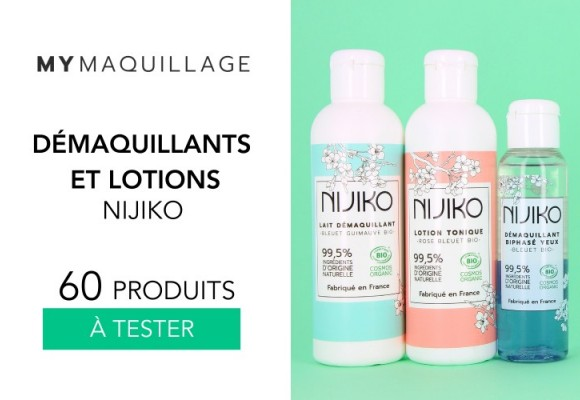 TEST FOR FREE - 60 ORGANIC NIJIKO CLEANSERS & LOTIONS TO TEST
