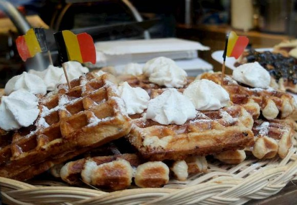Belgian waffle recipe for you to prepare yourself