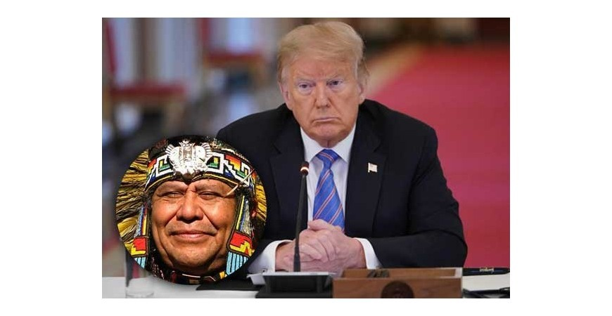 American indians to be deported to india, president donald trump has announced
