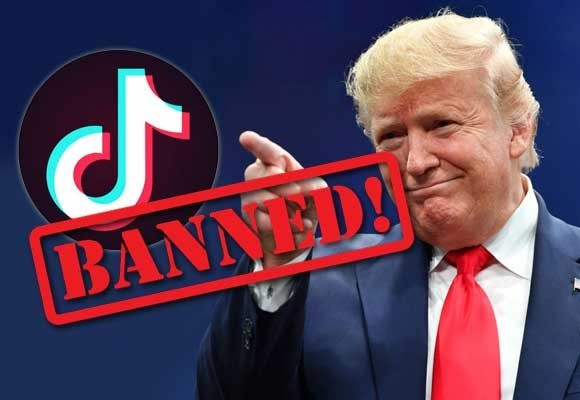 Trump Says He Will Ban TikTok In America Due to Chinese Collecting information Through The App