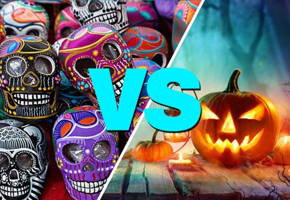 Day of the Dead and Halloween are Two different celebrations