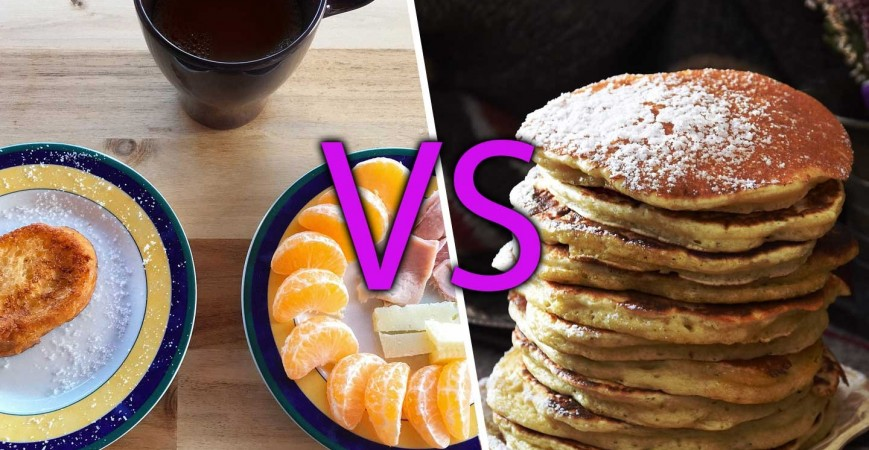 Continental Breakfast vs American Breakfast